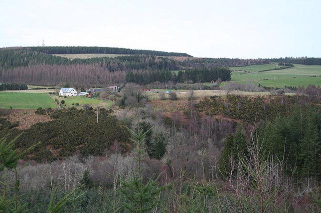 Across the Moor of Tore towards Todholes Farm