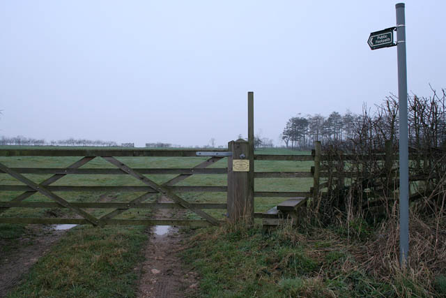 Stile at Low Somerby