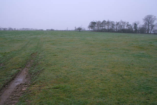 Farmland near Old Somerby
