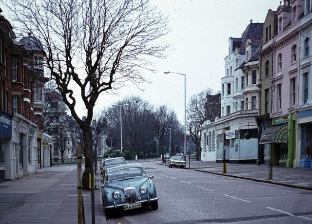 Folkestone - Bouverie Road West c1975