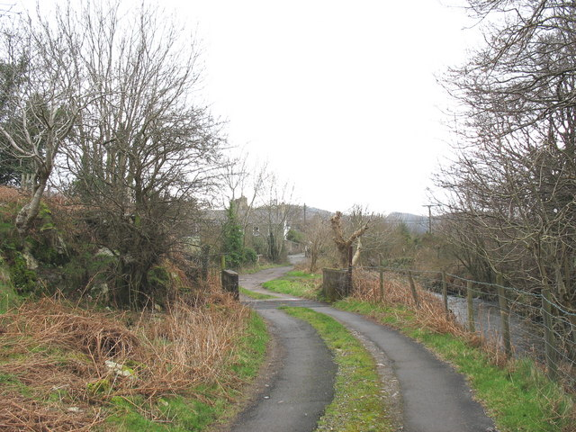 Cattle grid on the lane from Pant Buarth