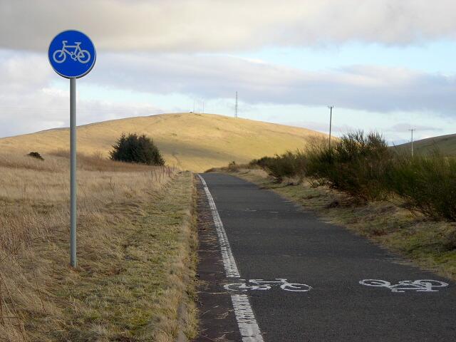 Cycle Path Near Abington