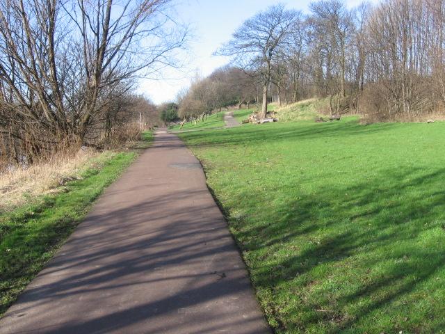 Clyde Walkway near Parkhead