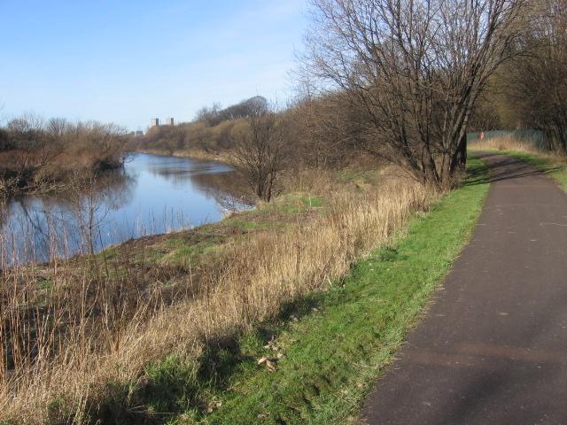 Clyde Walkway near Dalmarnock