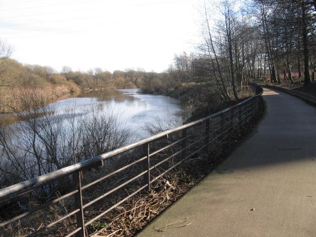 Clyde Walkway at Dalmarnock
