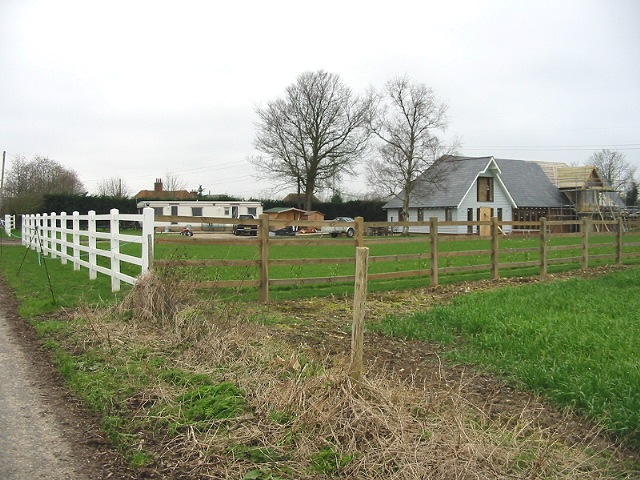 A new house being built