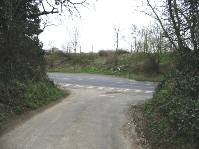 Junction with the A2050, New Dover Road