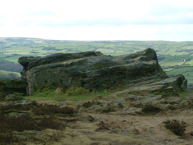 The edge of Norland Moor