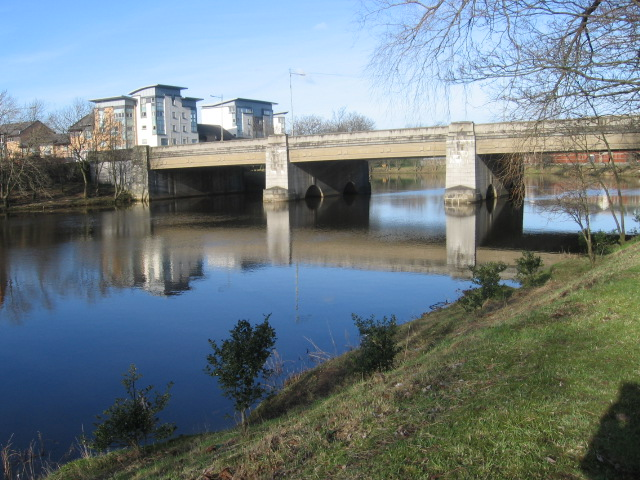 The A74 Bridge over the Clyde