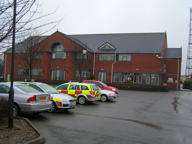 Staffordshire Fire & Rescue Headquarters from North East
