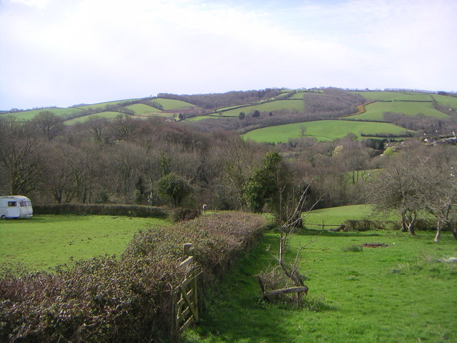 View across to holcome