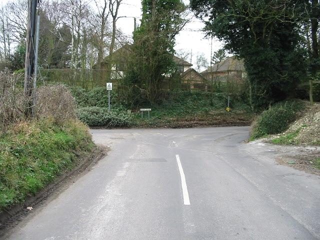 Junction of Merton Lane and Iffin Lane