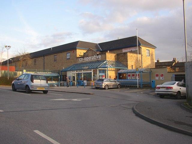 Co-operative supermarket off Northgate, Baildon