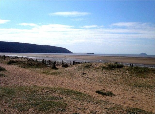 Dunes at Sand Bay, Somerset
