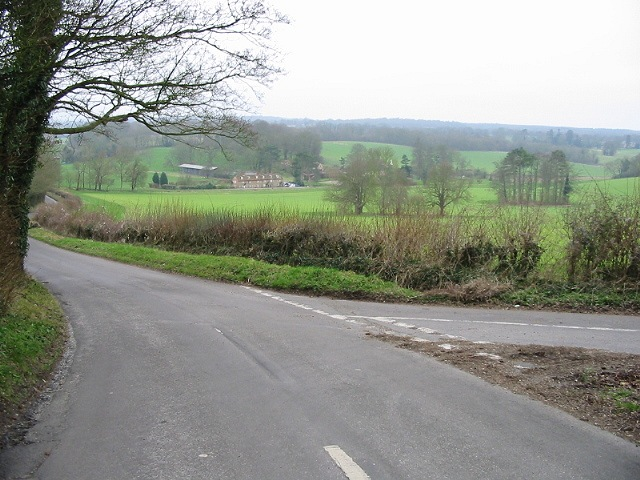 Swarling Hill Road, looking S