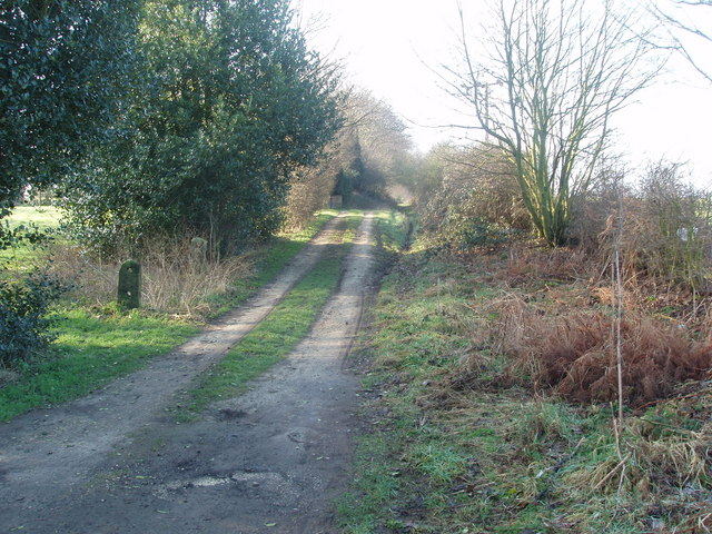 Private Driveway, near South Kirkby