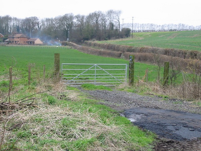 Gate to field off Town Road