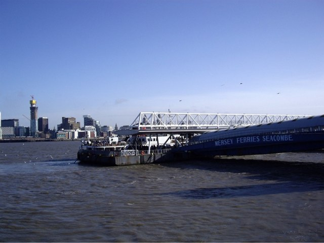Landing stage at Seacombe