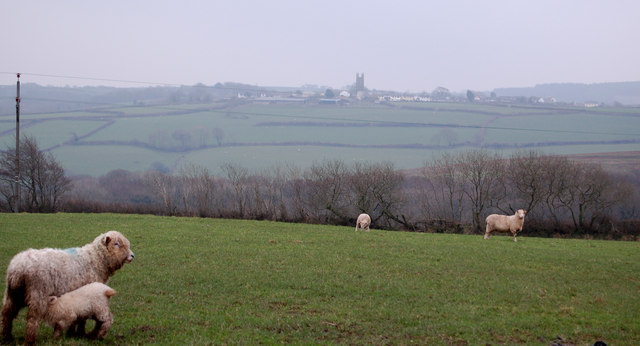 Looking towards Parkham from Horns Cross