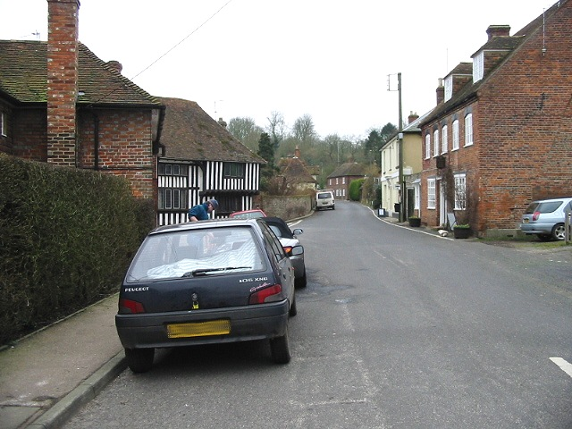 Petham, view along The Street