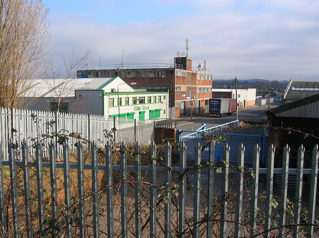 Industrial units on Greasley Road, Bulwell