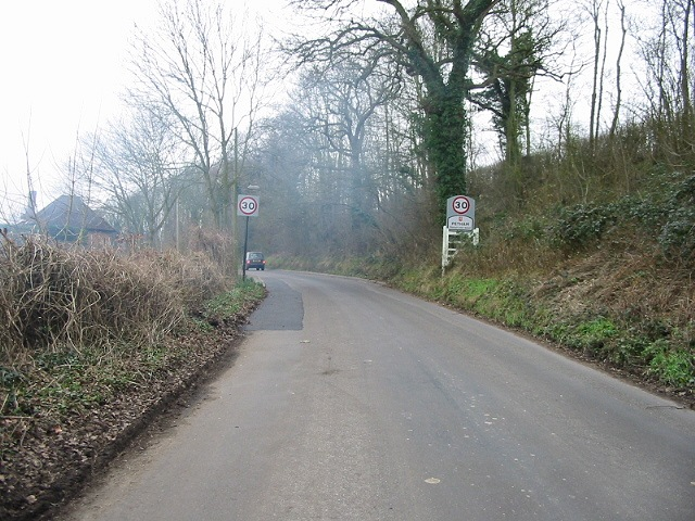 Entering Petham on Town Road