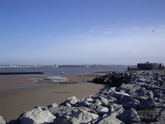 Beach at New Brighton