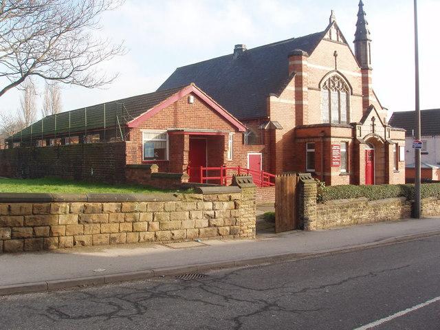 Brunswick Methodist Church, Mexborough