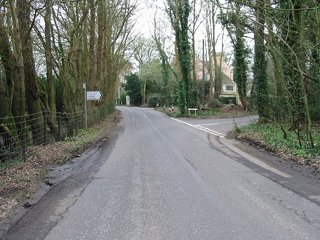 Junction to Anvil Green off Waltham Road