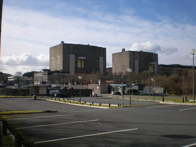 Trawsfynydd Nuclear Power Station (disused)