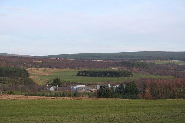 A neat and tidy Craigroy Farm.