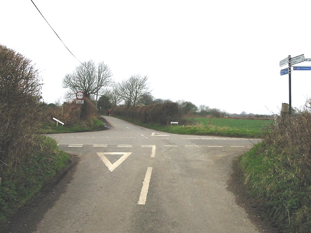 Crossroads between Anvil Green and Crundale