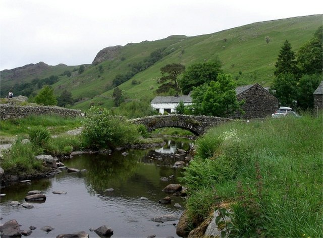 Bridge over Watendlath Beck