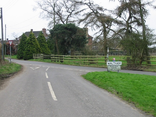 Entering Waltham from Richdore Road