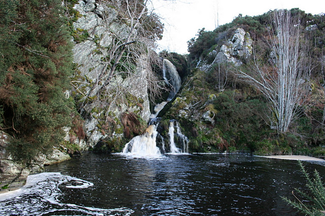 Eas (waterfall) of Auchness