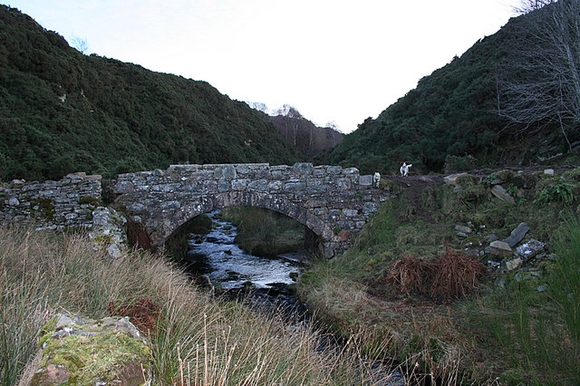 Bridge to the north of Eas of Auchness.