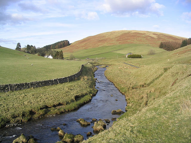 The Meggat Water south of Megdale
