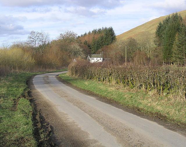The road to Glendinning