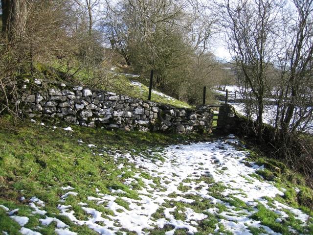 Footpath below Alyn Bank