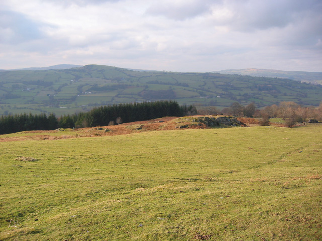 Lower slopes of Moel yr Henfaes