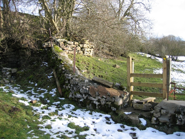 New Stile in an Old Wall