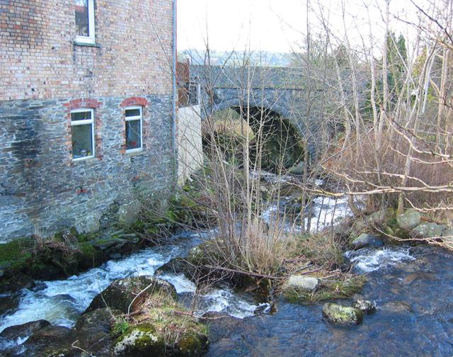 Afon Trystion, Cynwyd