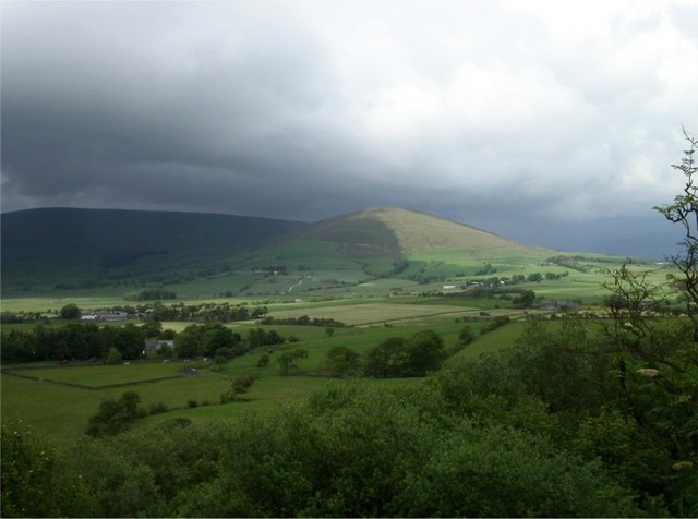 View to Parlick Pike from Beacon Hill