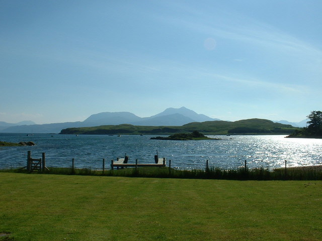 Ornsay from shore