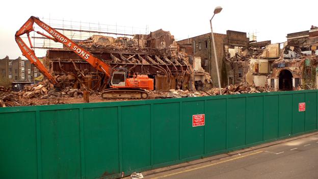 Dalston Theatre demolition