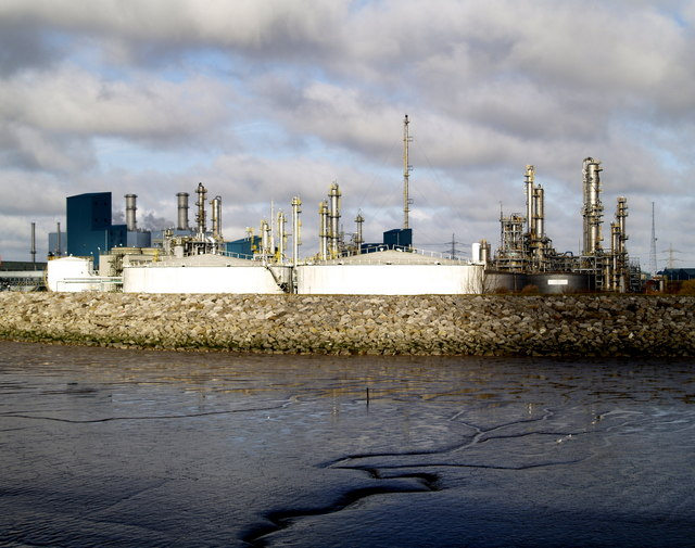 Chemical Works at Saltend