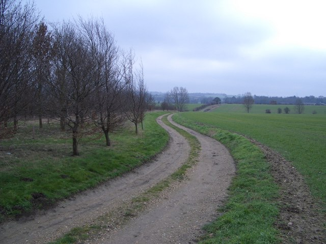 The Bridleway to Cold Brayfield from Snelson