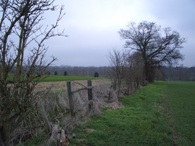 The Boundary Between Lavendon & Cold Brayfield Parishes