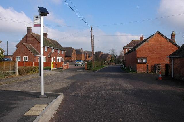 Bus Stop in Wadborough