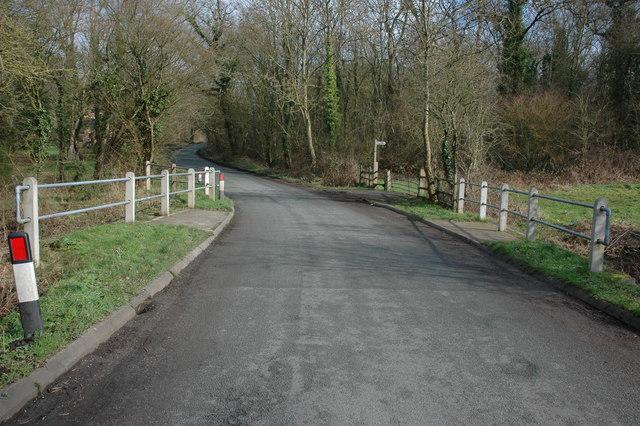 Bridge near Caldewell Mill